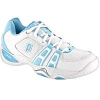 Prince T14 Womens White-Lite Blue