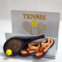 Tennis Letter Stand
