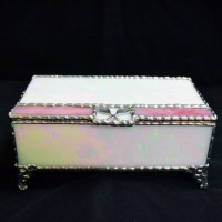 Stained Glass Box (6) Pearl