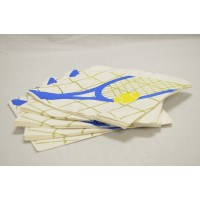 Paper Dinner Napkins Large Racquet 1 Ply
