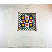 Tennis Hearts T Shirt - Womens's