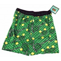 Fun Boxers Tennis Net, Racquets, Balls - Green