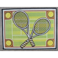 "Tennis Phosphorescent Rug (36"" x 27"")"