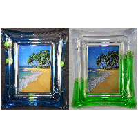 Acrylic Picture Frame-Tennis
