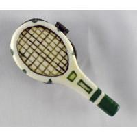 Porcelain Tennis Racquet Box