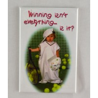 "Tennis Magnet ""Winning"""