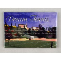 "Tennis Magnet ""Dream Tennis"""