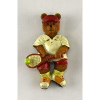 Tennis Bear Magnet-Receiving