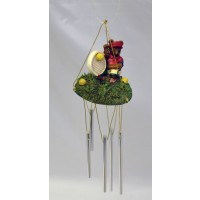 Tennis Bear Wind Chime