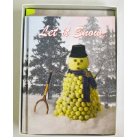 "Christmas Cards ""Let It Snow"""
