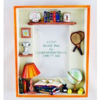 Tennis Room Polystone Res Picture Frame (Picture size: 3-1/2 x 5)