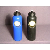 Tennis Ball Water Bottle PVC-Black