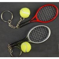 Tennis Racquet & Ball Key Ring