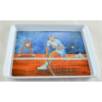 Blue Sky Color Small Tray