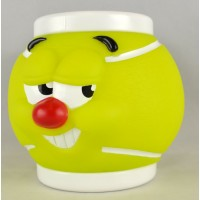 Tennis Ball Funny Face Mug