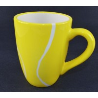 Tennis Ball Ceramic Mug-Large