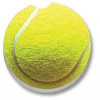 Tennis Ball Ceramic Car Coaster