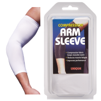 Compression Arm Sleeve - White