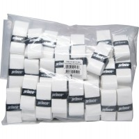 Prince Tacky Pro Overgrip Bulk 50 Pack White