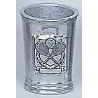 Pewter Mint Julep Glass