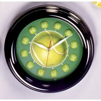 Neon Tennis Quartz Wall Clock