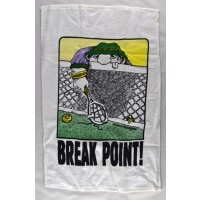 "Clarke Tennis Towel ""Break Point"""