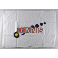 "Clarke Tennis Towel ""Tennis Vertical"""