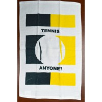 "Clarke Tennis Towel ""Tennis Anyone"""