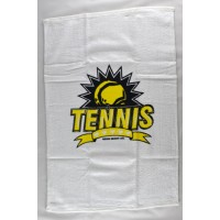 "Clarke Tennis Towel ""Tennis Crest"""
