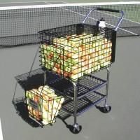 Deluxe Club Cart W/Mesh Divider & 2 bottom racks