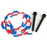 Segmented Plastic Jump Rope 7'