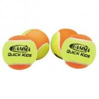 Gamma Quick Kids 60' Balls (12 count) Orange - 60ft. court