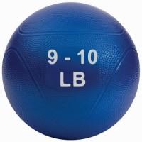 Medicine Ball 9-10 lb  Blue (non bounce)