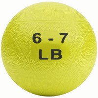 Medicine Ball 6-7 lb Yellow (non bounce)