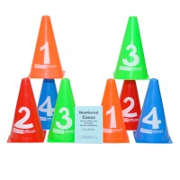 Numbered Cones with Booklet