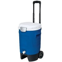 Igloo 5 Gallon Sport Roller Majestic Blue