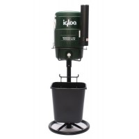 Igloo Cooler Stand & Basket-Black