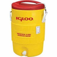 Igloo 5 Gallon Turf Series Cooler Yellow-Red