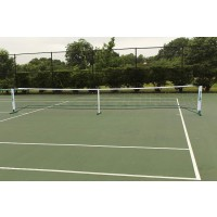 "PIckleball Net System: 34"" H x 22' L"