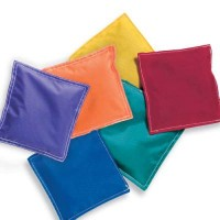 "Game Craft 5"" Nylon Bean Bags Prism 12 Pack"