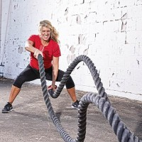"""Fitness Power Ropes: 2"""" D x 30' L"""