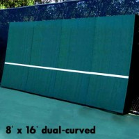 REAListic Backboards 8' x 16' Dual Curved. Includes Sound Reduction Kit