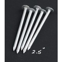 Aluminum Nails, Large Head-8 lbs, 2 1/2""
