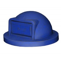Trash Receptacle Dome Top-Blue