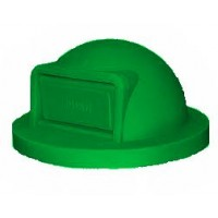 Trash Receptacle Dome Top-Green