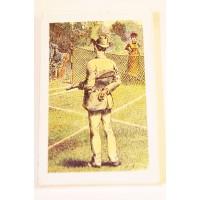 Playing Cards-Vintage Tennis, Bridge Size, Single Male