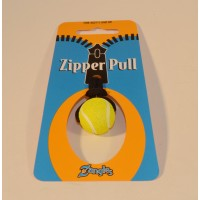 Tennis Ball Zipper Pull
