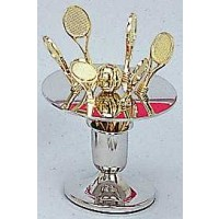 Tennis Fruit Fork Set