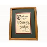 Tennis Players Prayer