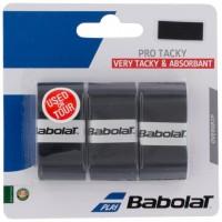 Babolat Pro Tacky Overgrip 3 Pack - Black